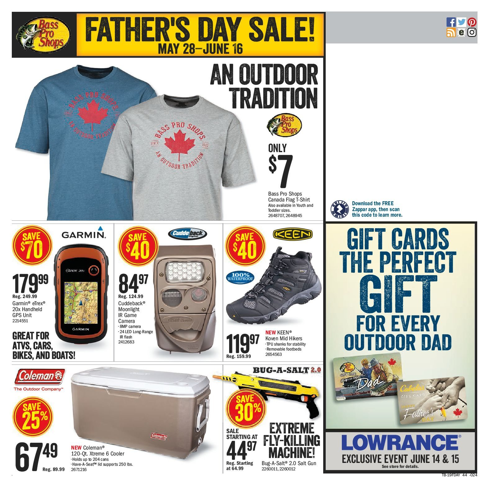 63a8269c237 Bass Pro Shops Weekly Flyer - Father's Day Sale! - May 28 – Jun 16 -  RedFlagDeals.com
