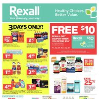 Rexall - Ottawa Only - Weekly Flyer