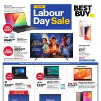 Best Buy - Weekly - Extended Labour Day Sale Flyer