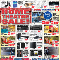 - Weekly - Home Theatre Sale! Flyer