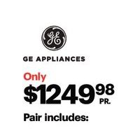 GE 4.9 Cu. Ft. High Efficiency Top Load Washer & 7.2 Cu. Ft. Electric Dryer