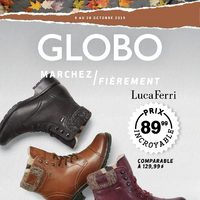 Globo Shoes - Marchez fièrement Flyer