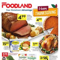 Foodland - Weekly Specials - Happy Thanksgiving Flyer