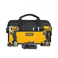 Dewalt 20V Max Compact Hammer Drill And Impact Driver Kit