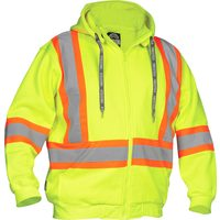Lime Safety Hoodie