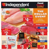 Your Independent Grocer - Weekly - The Dollar Event Flyer