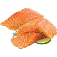Fresh Atlantic Salmon Portions or Fresh Rainbow Trout Fillets