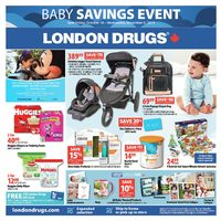London Drugs - Baby Savings Event Flyer
