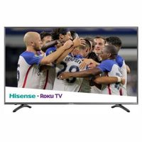 Hisense 55' 4K HDR Smart LED Roku Tv