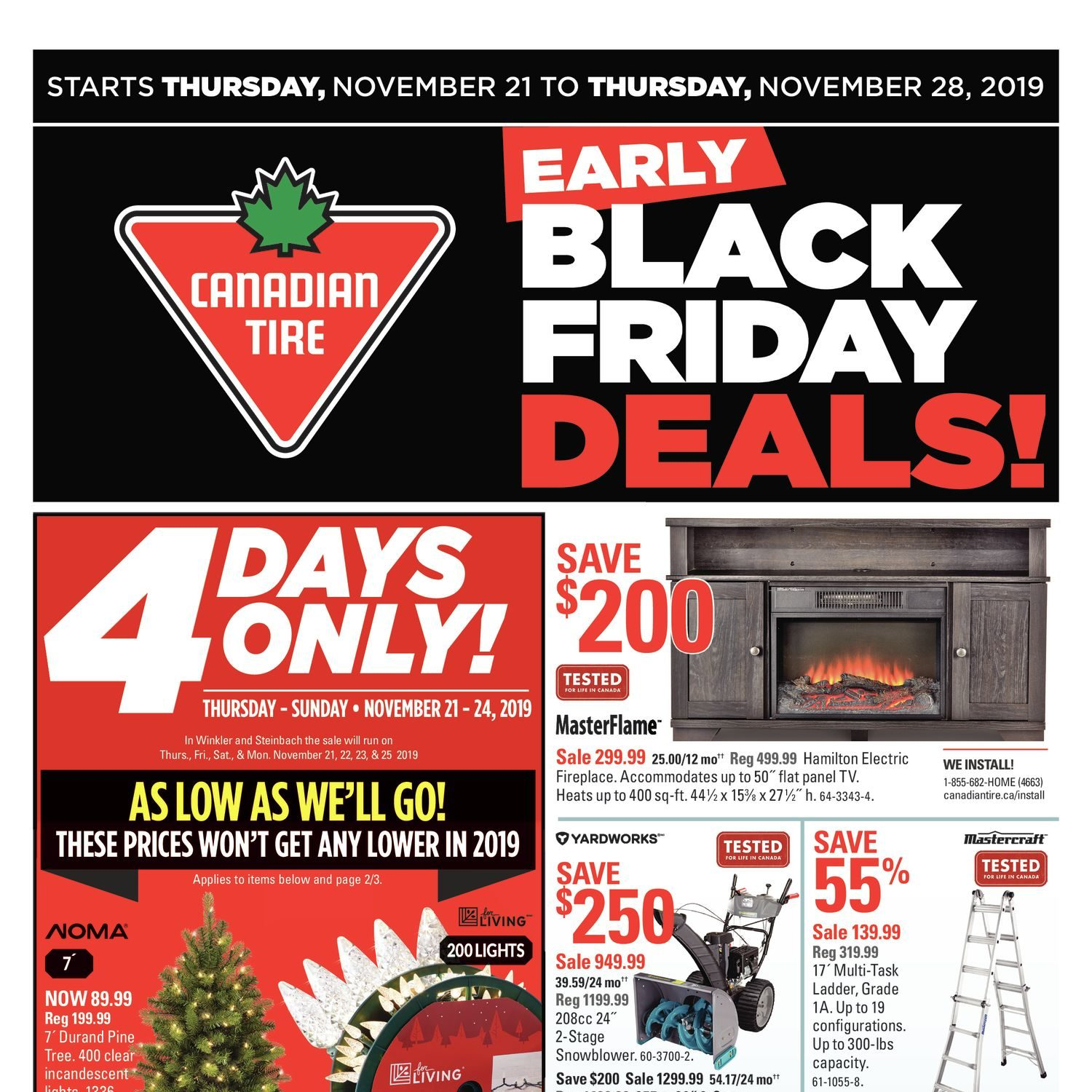 Canadian Tire Weekly Flyer - 8 Days of