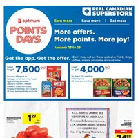 Real Canadian Superstore - Weekly - Point Days Flyer