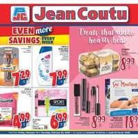 Jean Coutu - Even More Savings - Treats That Make Hearts Beat Flyer