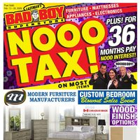 Bad Boy Furniture - Nooo Tax! Flyer