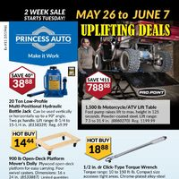 Princess Auto - Uplifting Deals Flyer