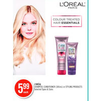 L'oreal Shampoo, Conditioner Or Styling Products