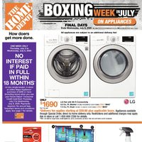 Home Depot - Weekly - Boxing Week in July Flyer