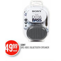Sony SRX-XB01 Bluetooth Speaker
