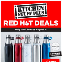 - Red Hot Deals Flyer