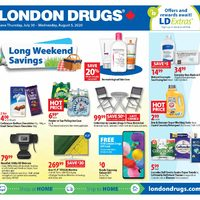 London Drugs - 6 Days of Savings - Long Weekend Savings Flyer