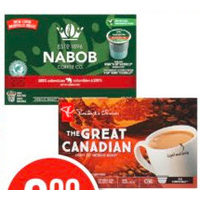 Nabob, Maxwell House, or Pc Keurig Compatible Coffee Pods