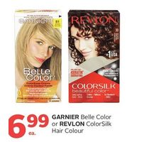 Garnier Belle Color Or Revlon ColorSilk Hair Colour