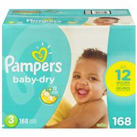 Pampers or Huggies Club Size Plus