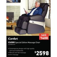 iComfort IC6500 Special Edition Massage Chair