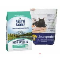 Natural Balance Dr. Elsey's & PureBites Cat Food