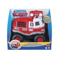 Plush Power Remote-Controlled Fire Truck