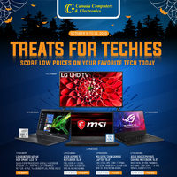Canada Computers - Treats For Techies Flyer