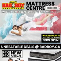 Bad Boy Furniture - Mattress Centre Flyer