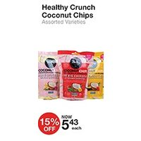 Healthy Crunch Coconut Chips