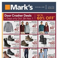 Mark's - Weekly Deals Flyer