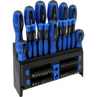 Power Fist 50 Pc Screwdriver And Bit Set