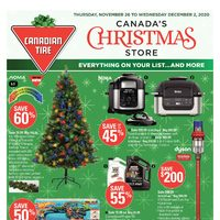 - 7 Days of Savings - Canada's Christmas Store Flyer