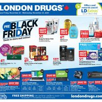London Drugs - Weekly - Pre-Black Friday Flyer