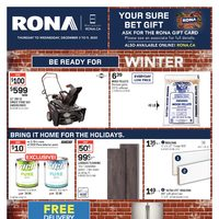 Rona - Weekly - Be Ready For Winter Flyer