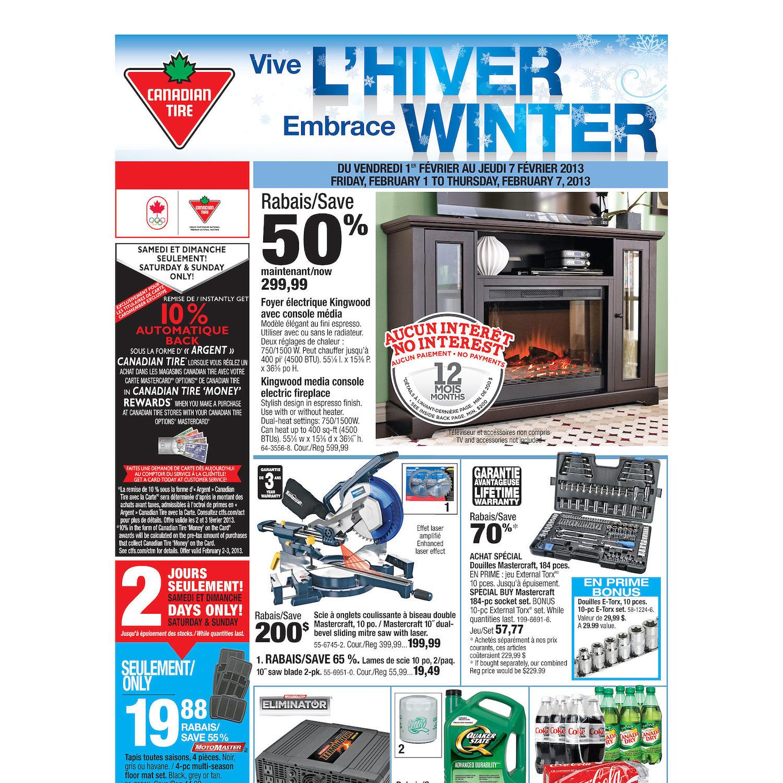 Canadian Tire Weekly Flyer Weekly Flyer Jan 31 Feb 7