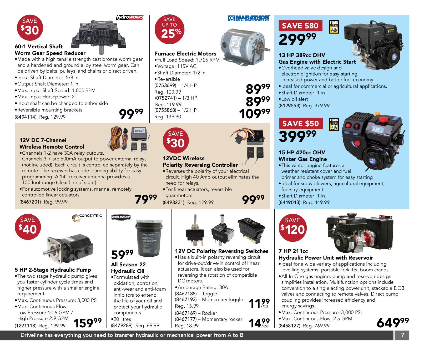 Princess Auto Weekly Flyer Gifts That Say Go Build Something Dc Shade Motors Can The Polarity Be Reversed With A Simple Switch Nov 4 16