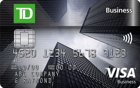 Compare best td credit cards in canada redflagdeals credit cards td business visa card reheart Gallery