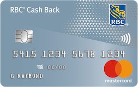RBC® Cash Back MasterCard