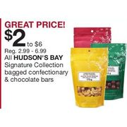 All Hudson's Bay Signature Collection Bagged Confectionary & Chocolate Bars - 3 Days Only - From $2.00