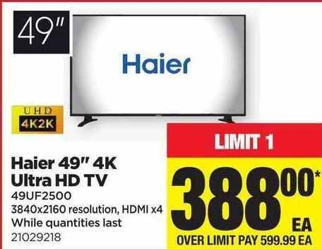 Real Canadian Superstore: Haier 49