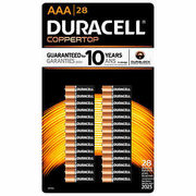 Duracell AA and AAA Alkaline Batteries - $20.49 ($5.50 off)