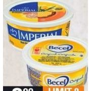 Becel or Imperial Margarine - $2.99