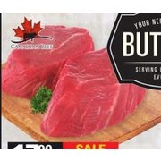 Beef Tenderloin Grilling Steak - $17.99/lb ($8.00 off)