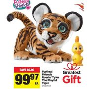 FurReal Friends Roarin' Tyler The Playful Tiger - $99.97 ($80.00 off)