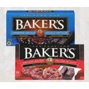 Baker's Chocolate Squares - $4.99