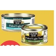 Clover Leaf Chunk Light Or Flaked Light Tuna Or Flavoured Tuna  - 4/$5.00