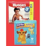 Huggies Diapers, Pull-Ups Or Goodnites Jumbo - $9.99/Pkg